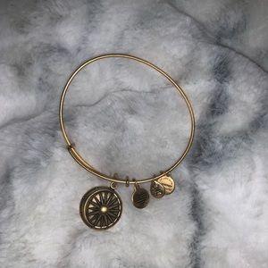 Cosmic balance Alex & ani bracelet gold